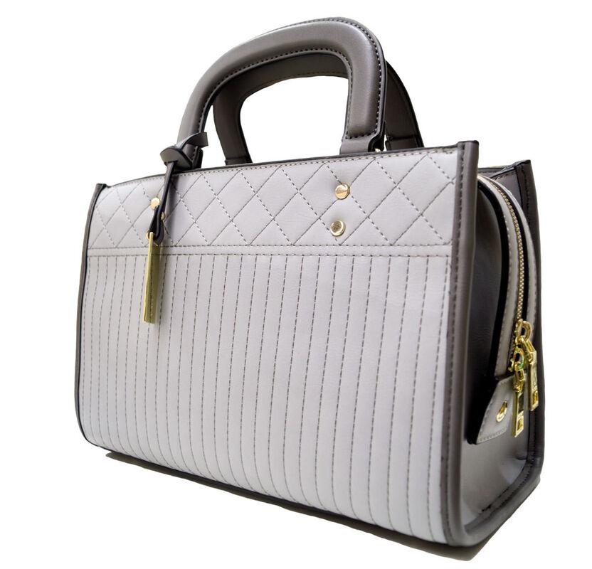 Магазин сумок Susen Сумка женская серая 101610099 - фото 1