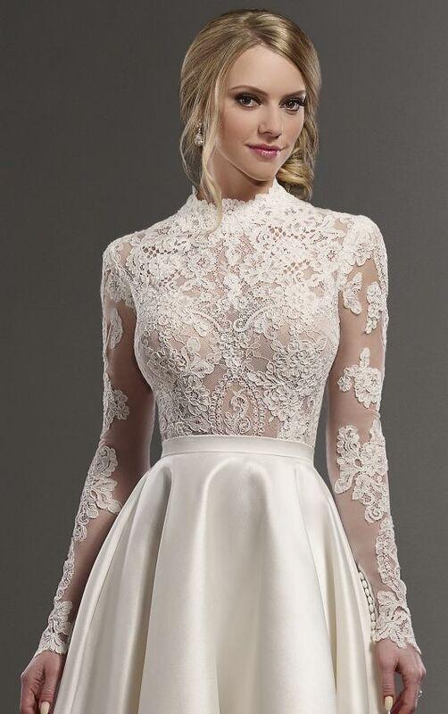 Свадебное платье напрокат Essense of Australia Платье свадебное Jude - фото 5