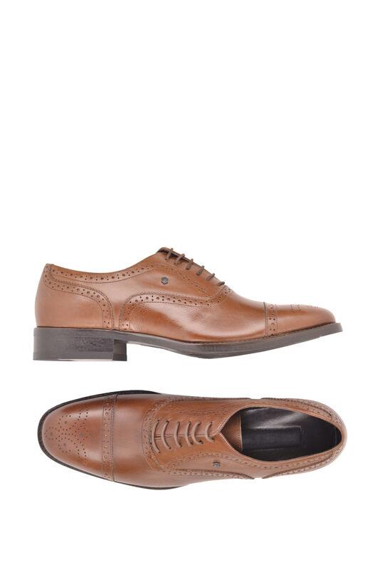 Обувь мужская HISTORIA Туфли оксфорд броги коричневые Sh.Br.73610 - фото 3