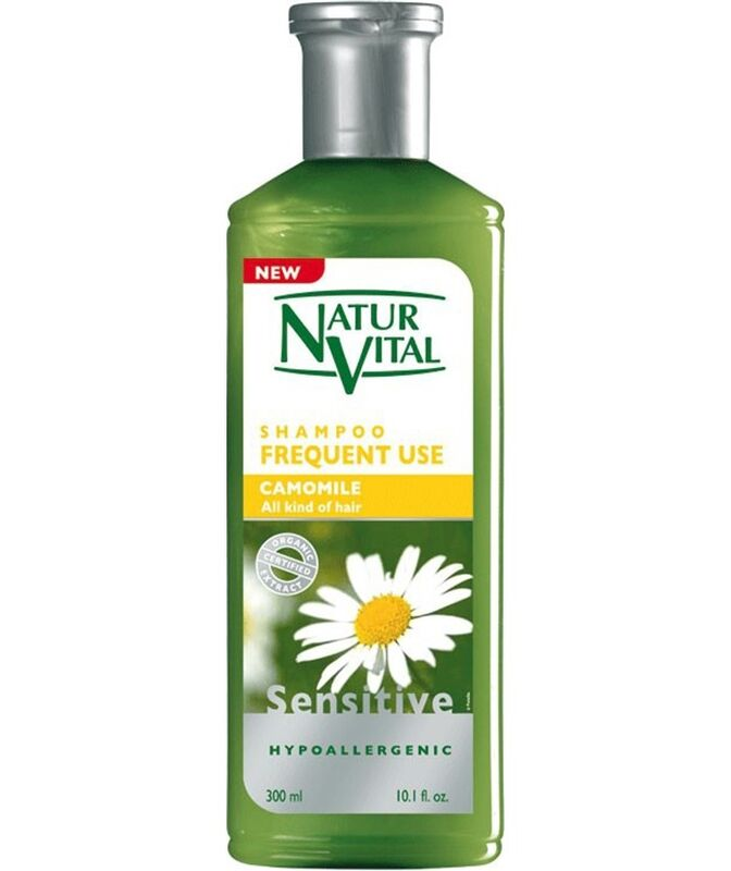 Уход за волосами Natur Vital Шампунь для всех типов волос Ромашка Hair Shampoo Camomile - Frequent Use - фото 1