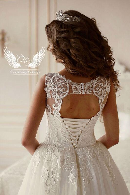 Свадебный салон ALIZA Платье свадебное «Vintage» Ameli Benya - фото 2