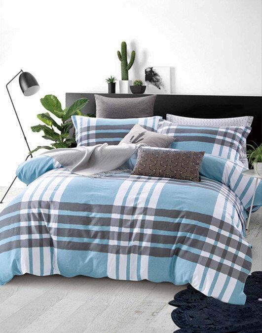 Подарок Tango Сатиновое постельное белье евро TPIG6-517 - фото 1