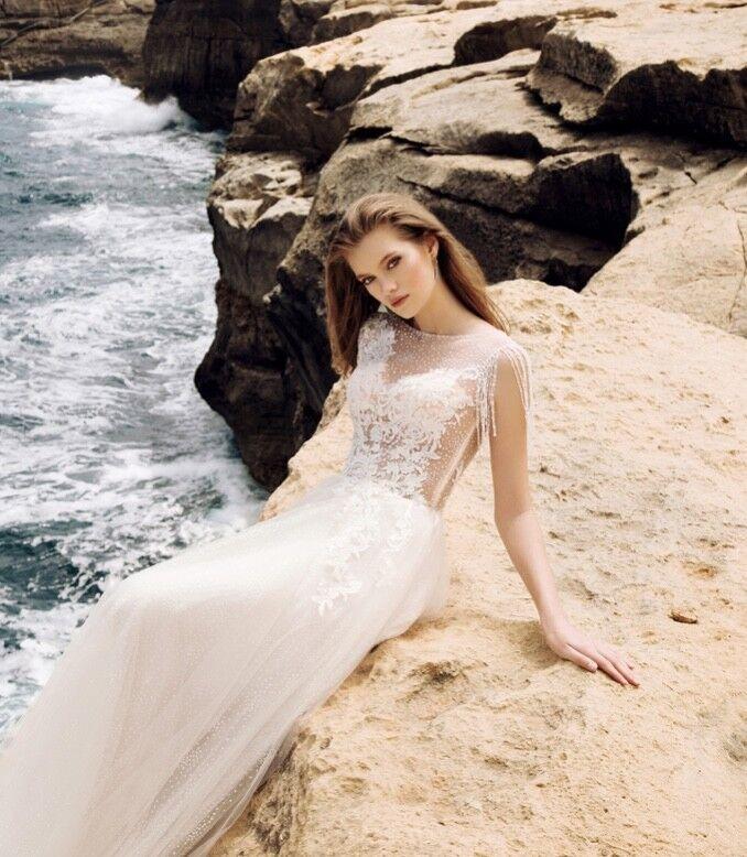 Свадебный салон Vanilla room Свадебное платье Анита - фото 4