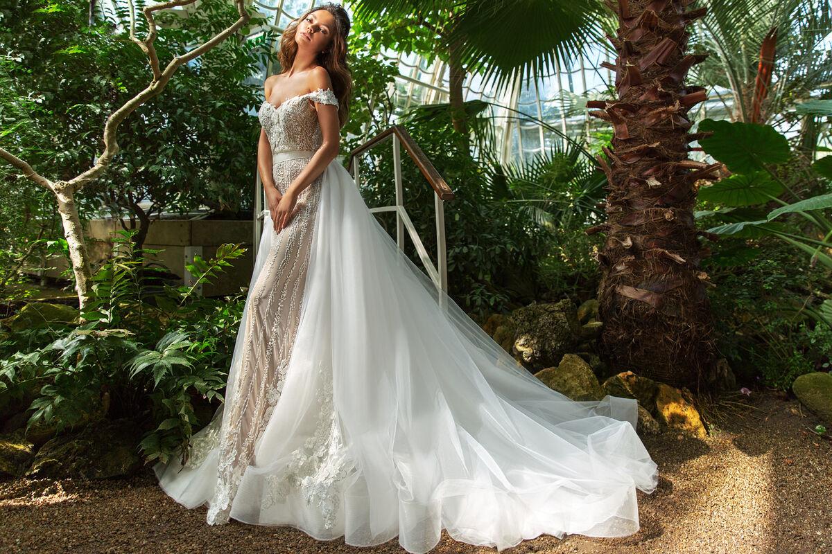 Свадебное платье напрокат Crystal Claudia - фото 1