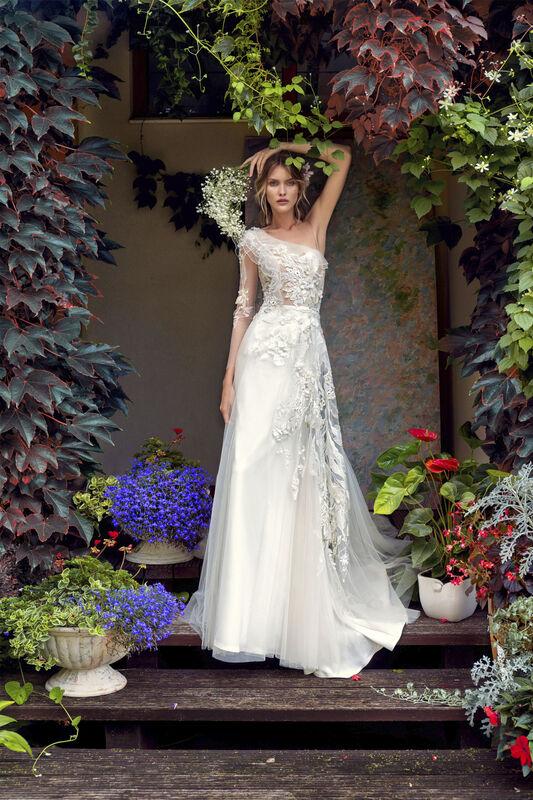 Свадебный салон Papilio Свадебное платье «Моризо» модель 19/2000 - фото 1