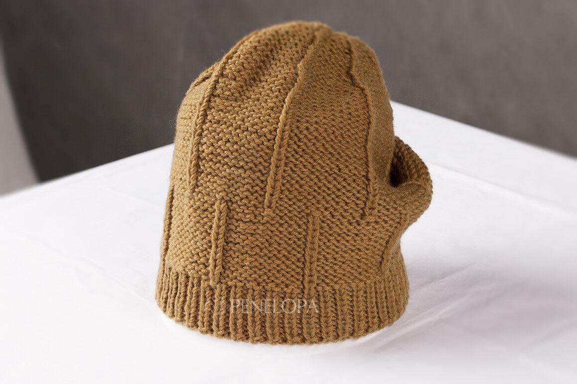 Головной убор PENELOPA Горчичная шапка M107 - фото 3