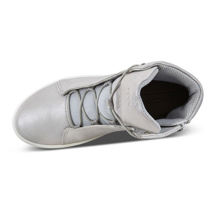 Обувь детская ECCO Кеды высокие S8 781103/01379 - фото 6