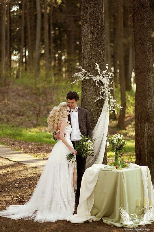 Свадебное платье напрокат ALIZA Платье свадебное «Ailinna» Soffito - фото 1