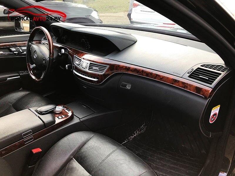 Прокат авто Mercedes-Benz S-Class W221 2010 г.в. - фото 7