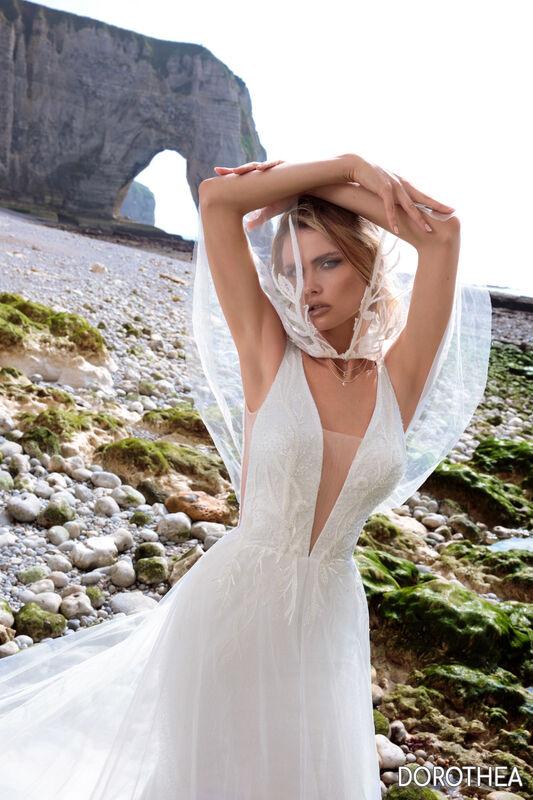 Свадебный салон Bonjour Galerie Платье свадебное DOROTHEYA из коллекции BON VOYAGE - фото 3