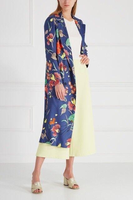 Верхняя одежда женская Diane von Furstenberg Пальто женское в цветы - фото 2