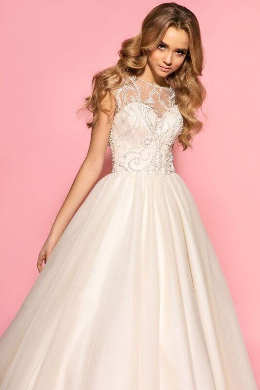Свадебное платье напрокат Eva Lendel Платье свадебное Olivia - фото 3
