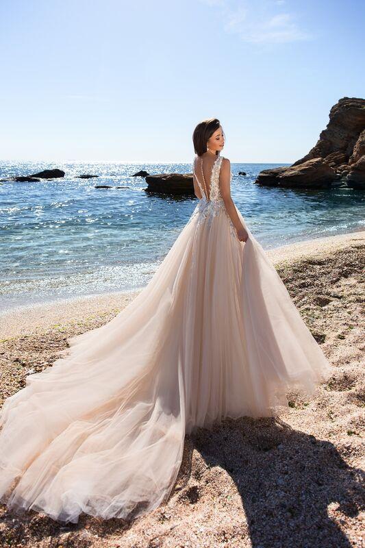 Свадебное платье напрокат Ida Torez Cocles Braun - фото 3