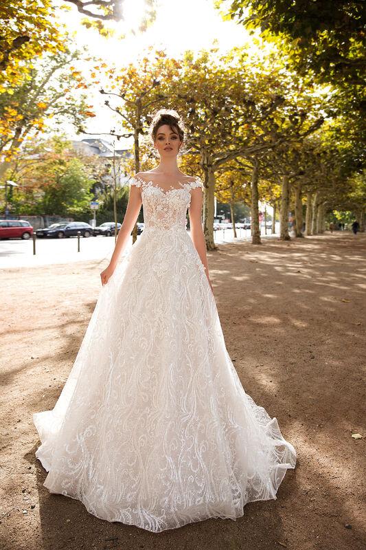 Свадебный салон Vanilla room Свадебное платье Джессика - фото 1
