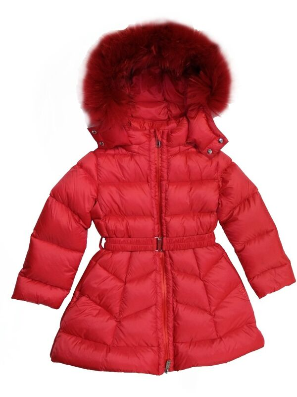 Верхняя одежда детская ADD Пальто для девочки IAG213-0 - фото 1