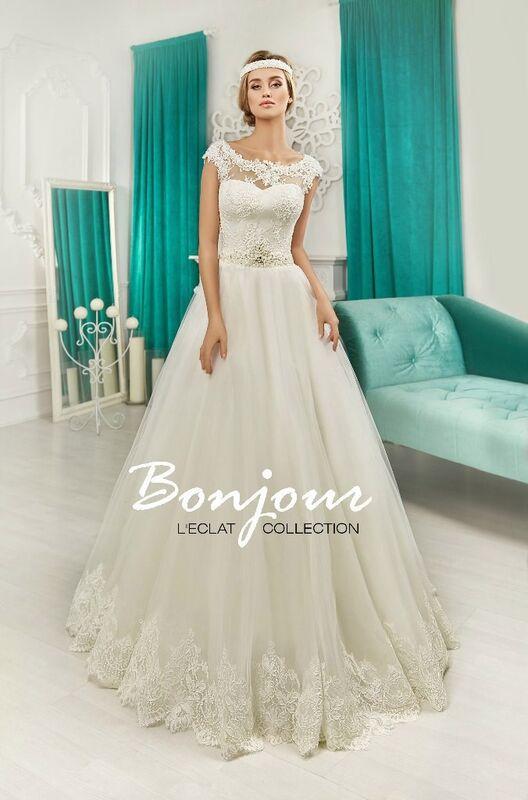Свадебное платье напрокат Bonjour Платье свадебное «Beylis» из коллекции L'ECLAT 2016 - фото 1
