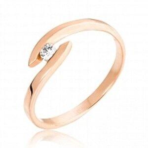 Ювелирный салон Jeweller Karat Кольцо золотое с бриллиантами арт. 1212138 - фото 1