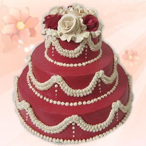 Торт Милано Свадебный торт №3 - фото 1