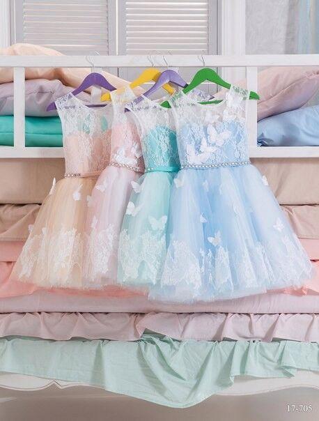 Вечернее платье Childrendress Пышное нарядное детское платье 0007-16 - фото 4