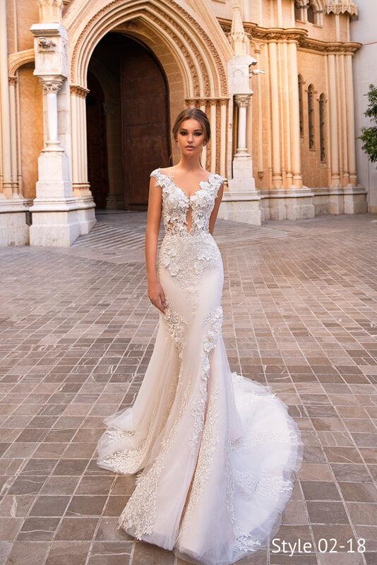 Свадебное платье напрокат Giovanna Alessandro Свадебное платье Fresia - фото 1