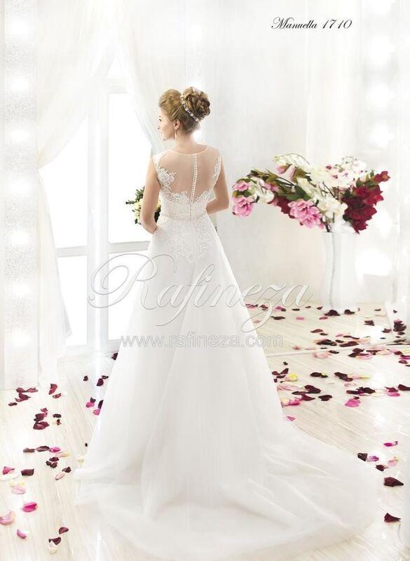 Свадебное платье напрокат Rafineza Свадебное платье Manuella - фото 2