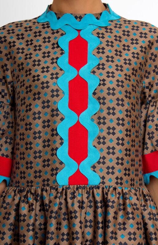 Платье женское Pintel™ Платье свободного силуэта из шерсти  Saäna - фото 3