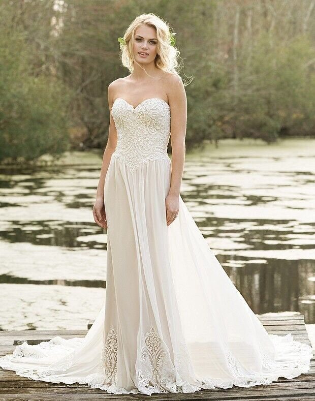 Свадебное платье напрокат Lillian West Свадебное платье Annabelle - фото 2