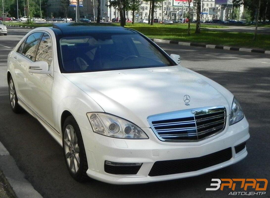 Аренда авто Mercedes-Benz W221 Long белый - фото 1