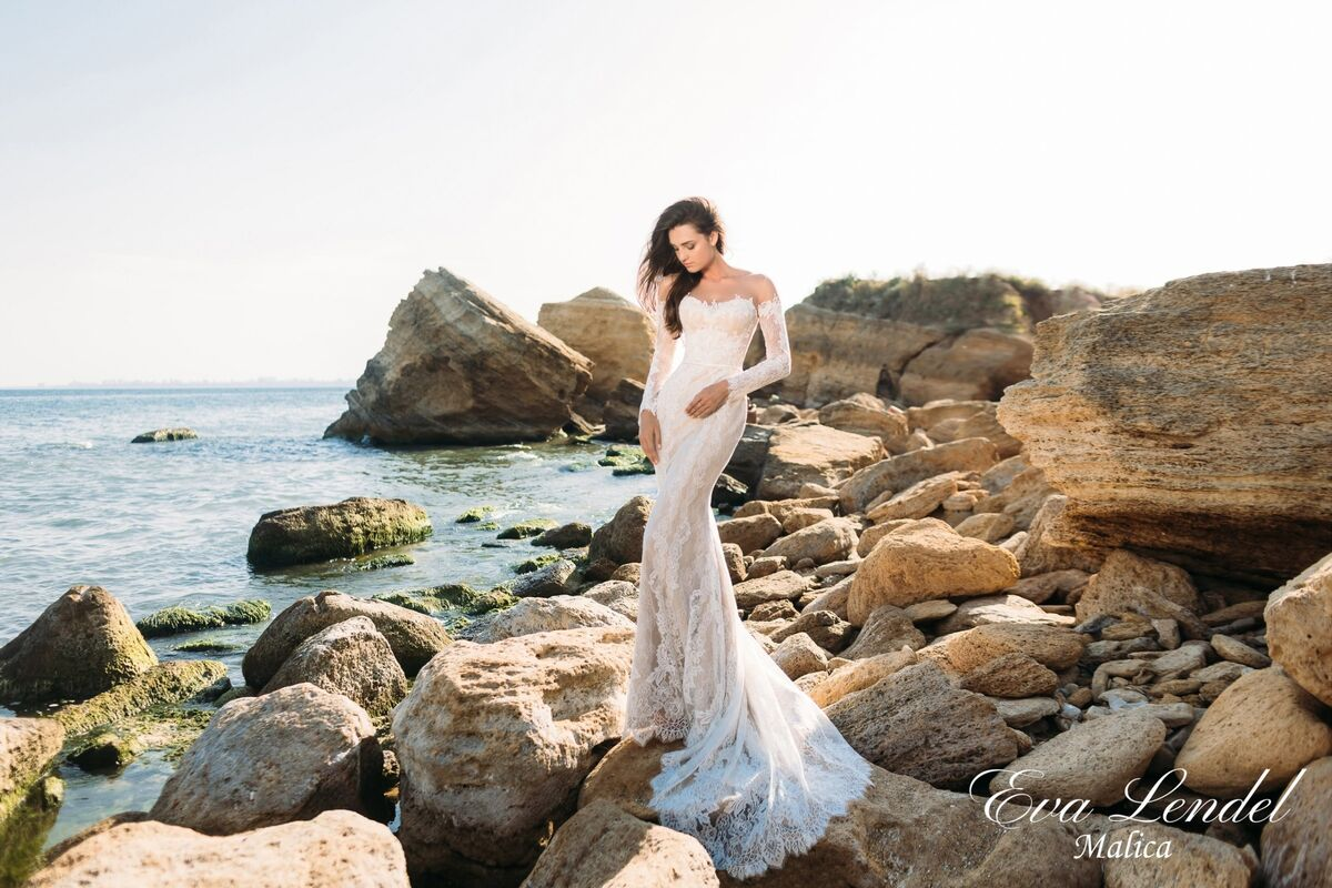 Свадебный салон Eva Lendel Платье свадебное Malica - фото 3