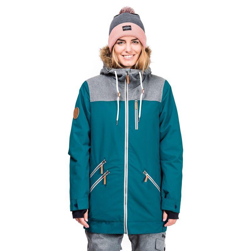 Спортивная одежда Horsefeathers Сноубордическая куртка Tara Jacket 1718  бирюзовый - фото 1 a23bd70d47d