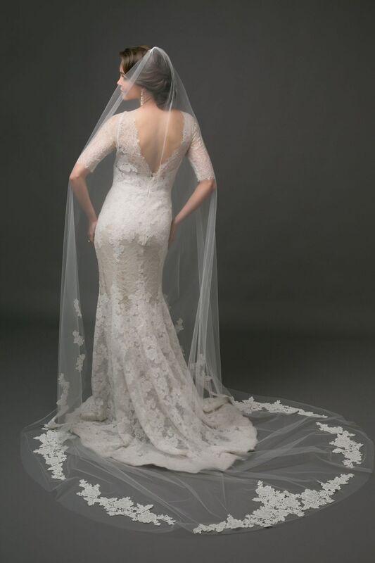 Свадебный аксессуар Bliss Свадебная фата Galla - фото 1