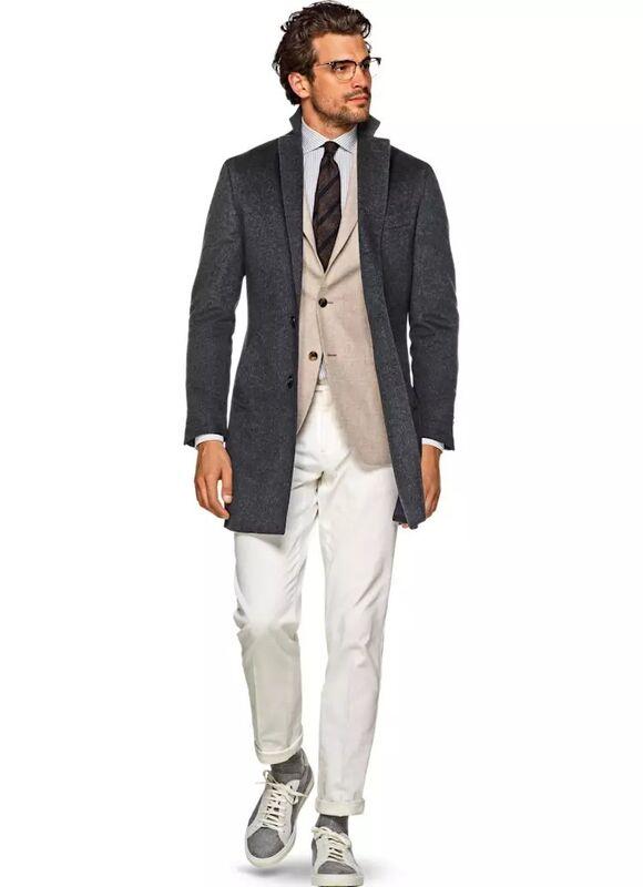 Верхняя одежда мужская SUITSUPPLY Пальто мужское Vicenza J460 - фото 1
