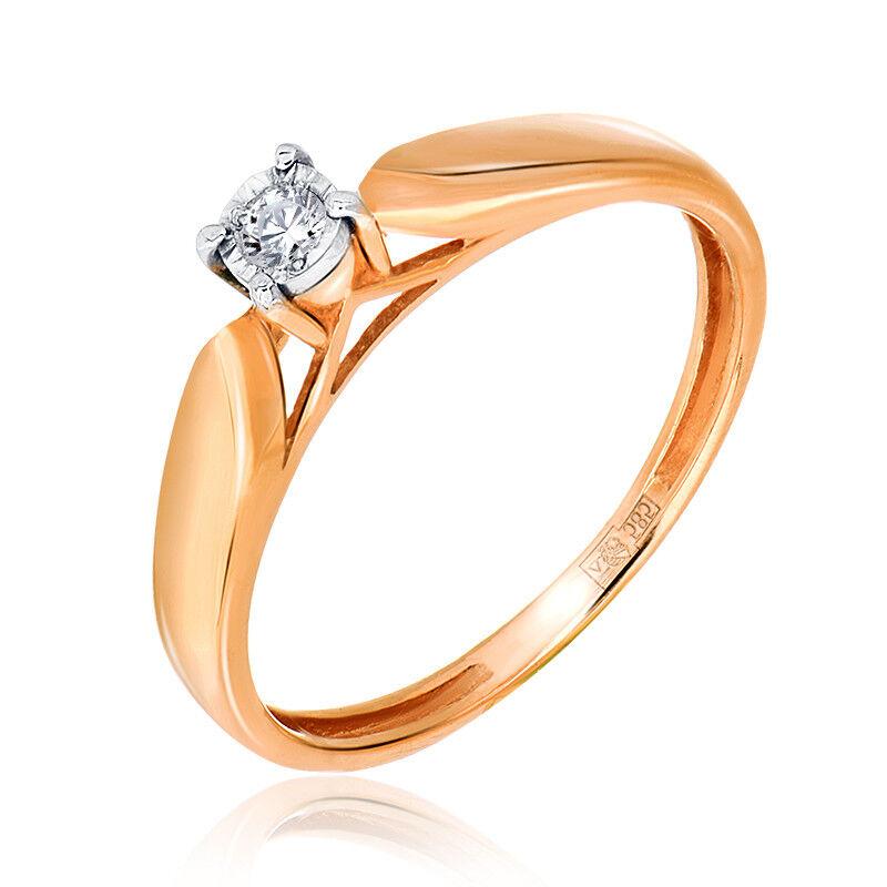 Ювелирный салон Jeweller Karat Кольцо золотое с бриллиантами арт. 3212422/9 - фото 1