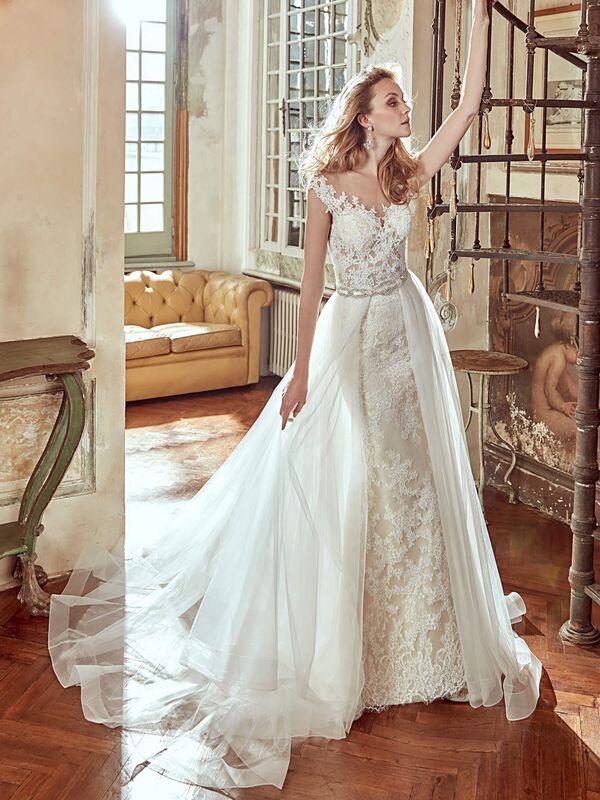 Свадебное платье напрокат Nicole Платье свадебное Corsica - фото 1