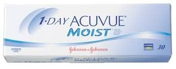 Линзы Johnson & Johnson Контактные линзы 1-Day Acuvue Moist - фото 1
