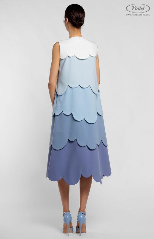 Платье женское Pintel™ Миди-платье А-силуэта Juvinianka - фото 3