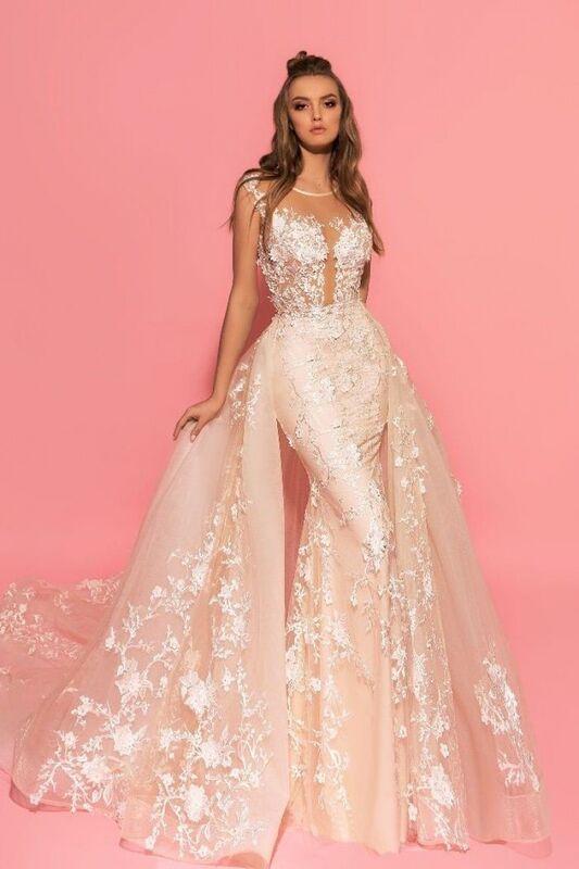 Свадебное платье напрокат Eva Lendel Платье свадебное Hizer - фото 1