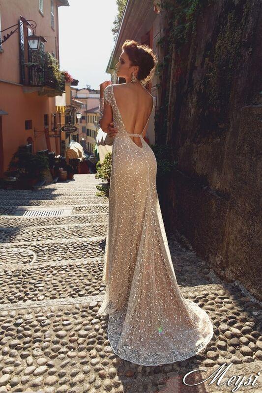 Свадебный салон Bonjour Galerie Свадебное платье Meysi из коллекции Royal Luxury - фото 3