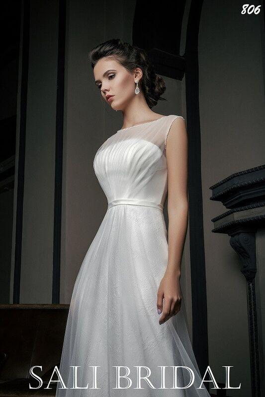 Свадебный салон Sali Bridal Свадебное платье 806 - фото 2