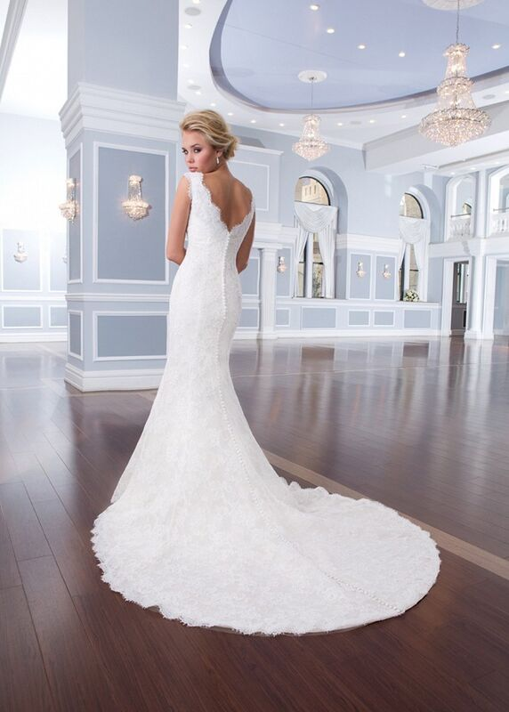 Свадебное платье напрокат Lillian West Платье свадебное «Amalie» - фото 2
