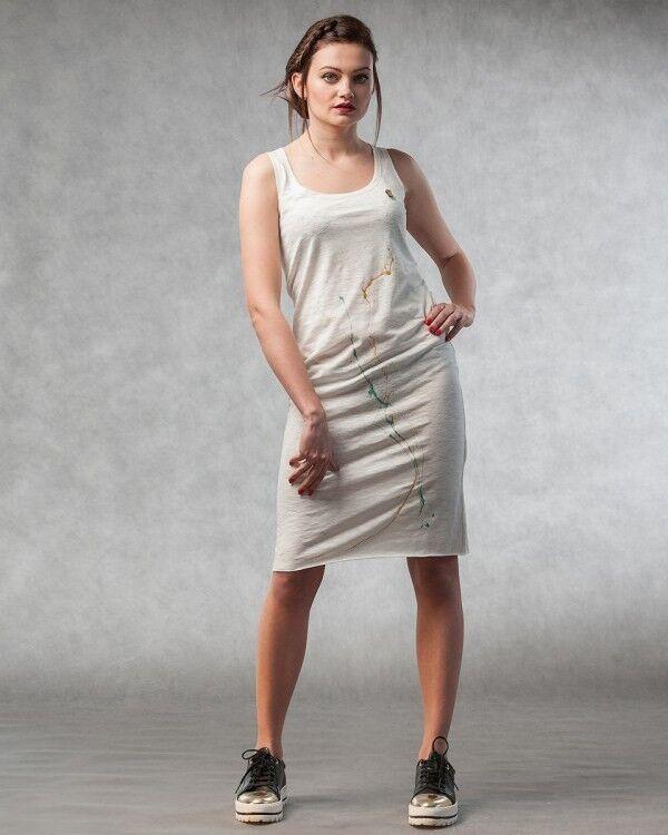 Платье женское MISUTERI Платье Maiku White SS0133 - фото 1