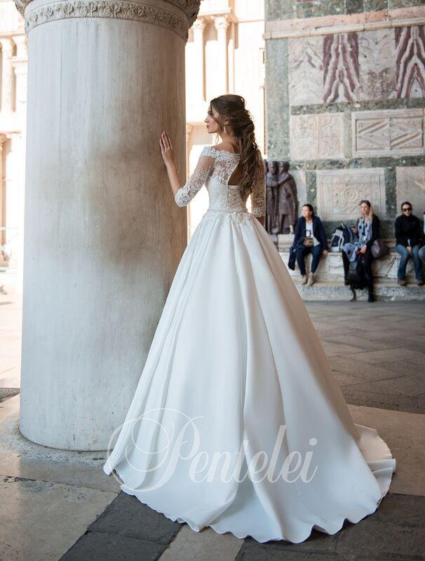 Свадебное платье напрокат Lavender Свадебное платье Alexia - фото 3