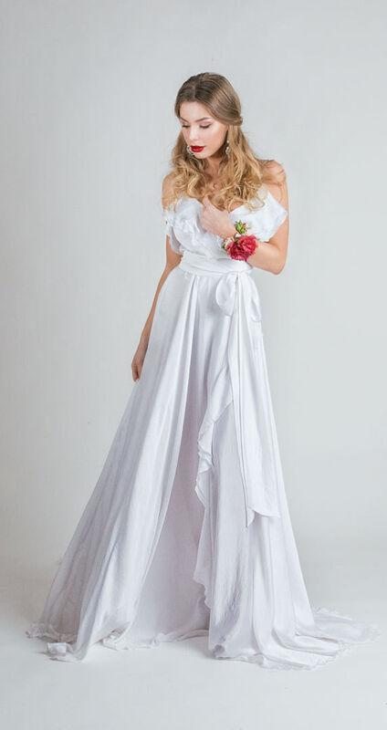 Свадебное платье напрокат Helenber Свадебное платье - фото 1