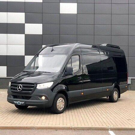 Прокат авто Mercedes-Benz Sprinter Black VIP-12 - фото 1