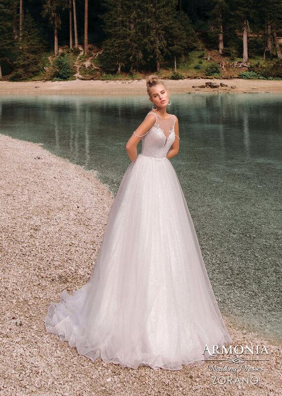 Свадебный салон Armonia Свадебное платье Zorano - фото 1