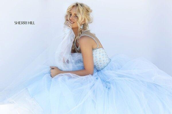 Свадебное платье напрокат Sherri Hill Платье свадебное 50008 - фото 6