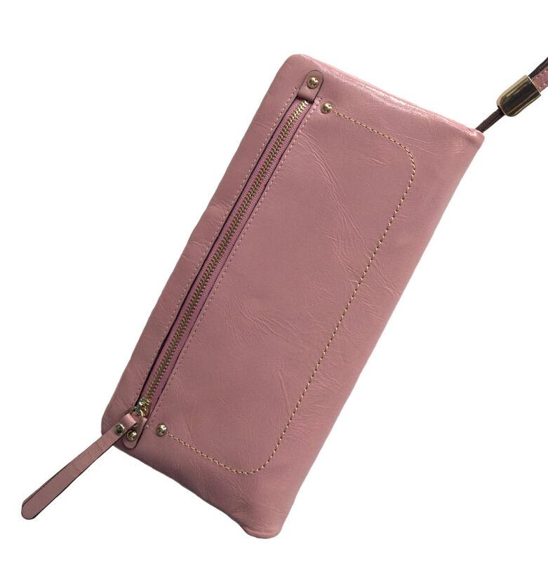 Магазин сумок Rozan Клатч - кошелек женский коричневый 3108 - фото 2
