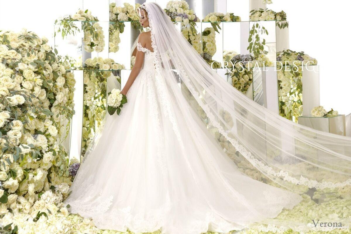 Свадебное платье напрокат Crystal Свадебное платье Verona - фото 3