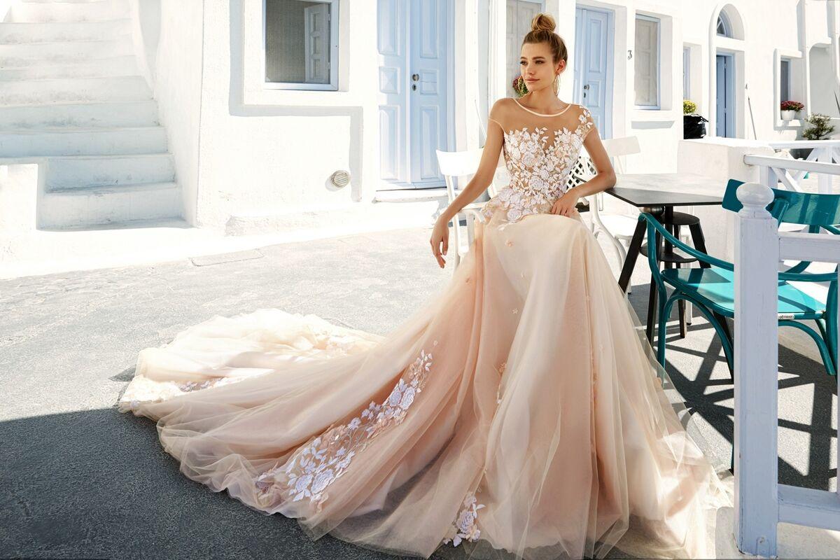 Свадебное платье напрокат Eva Lendel Свадебное платье Kate - фото 4