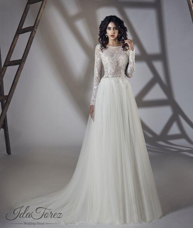 Свадебный салон Ida Torez Платье свадебное Estena - фото 1